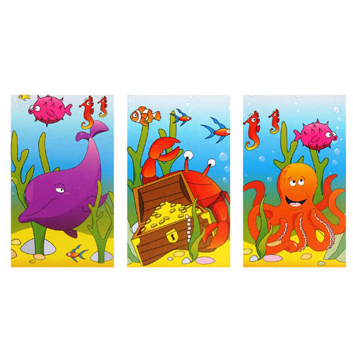 Assorted Sealife Mini Notebook Product Image