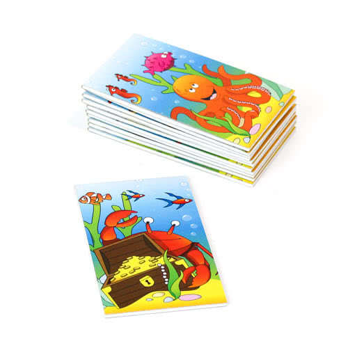 Assorted Sealife Mini Notebooks - Pack of 12 Product Image