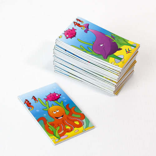 Assorted Sealife Mini Notebooks - Pack of 24 Product Image
