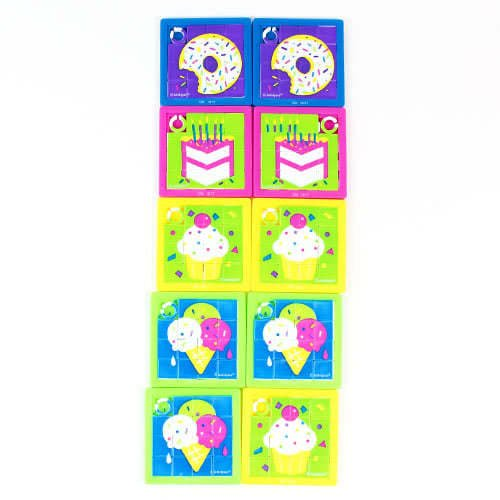 Assorted Slide Puzzles - Pack of 10