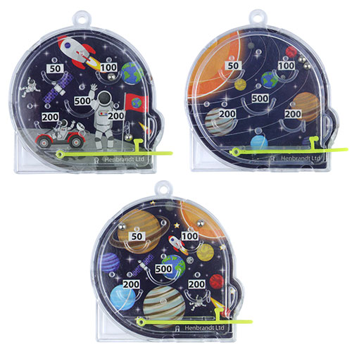 Assorted Space Mini Pinball Game