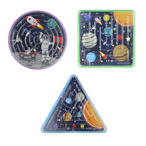 Assorted Space Puzzle Maze