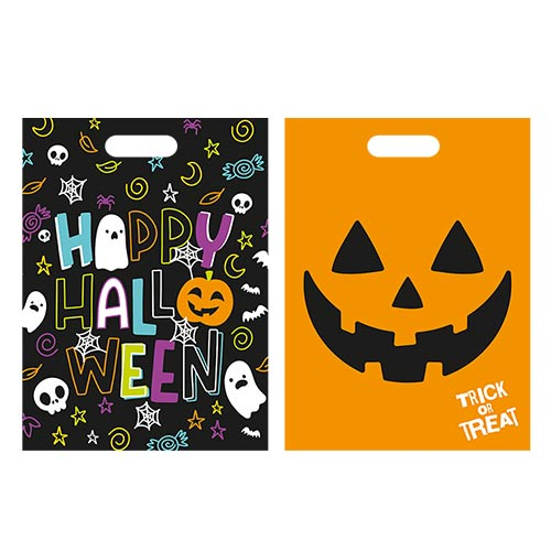 Assorted Spooky Halloween Party Loot Bags - Pack of 20