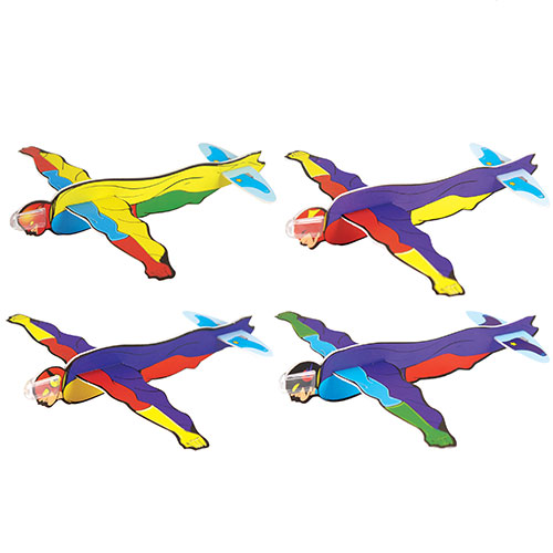 Assorted Superhero Gliders Toy 17cm Product Image