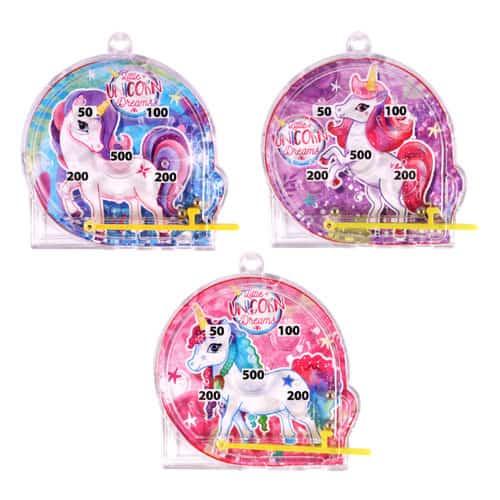 Assorted Unicorn Mini Pinball Game Product Image