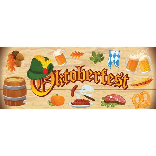 Autumn Oktoberfest Large PVC Banner Decoration 3m x 1.2m Product Image