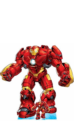 Avengers Comics Hulkbuster Armour Lifesize Cardboard Cutout 192cm