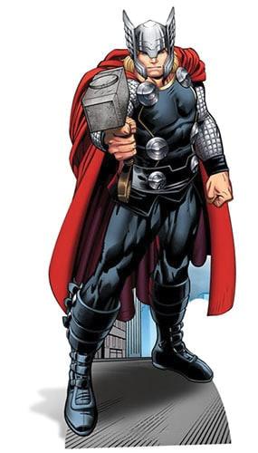 Avengers Thor Lifesize Cardboard Cutout - 184cm