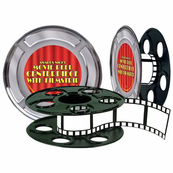 Award Night - Movie Reel Centrepiece with Filmstrip Product Image
