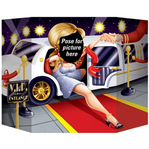 Awards Night Female Photo Prop - 64cm Product Image