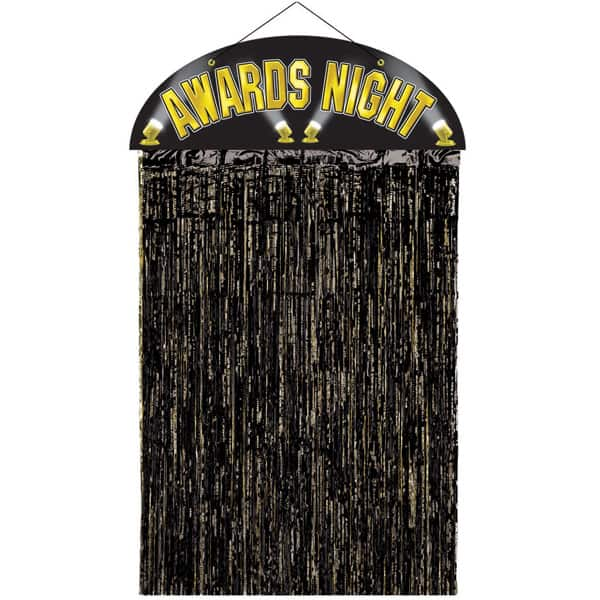 Awards Night Hollywood Shimmer Door Curtain Product Image