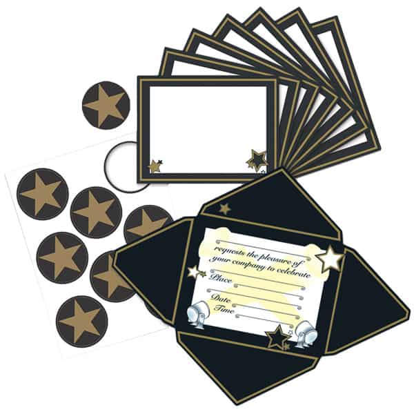 Awards Night Invitations and Seals - Pack of 8 Product Image