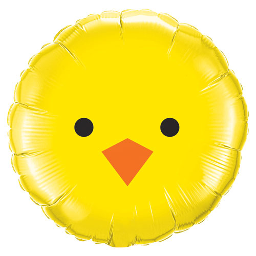 Baby Chick Easter Foil Helium Qualatex Balloon 46cm / 18 in Product Image