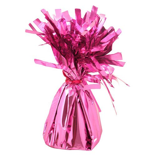 Baby Pink Foil Balloon Weight 160g