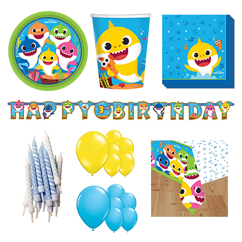 Baby Shark 16 Person Deluxe Party Pack Product Image