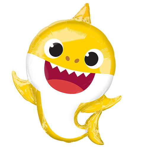 Baby Shark Helium Foil Giant Balloon 66cm / 26 in Product Image