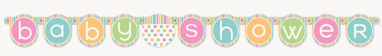 Baby Shower Jointed Banner 132cm