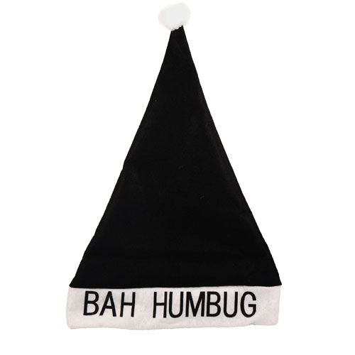 Bah Humbug Hat Adults Christmas Fancy Dress