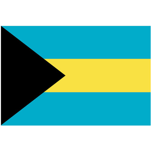 Bahamas Flag - 5 x 3 Ft