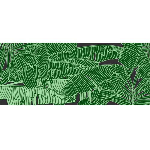 Banana Leaves PVC Party Sign Decoration 60cm x 25cm