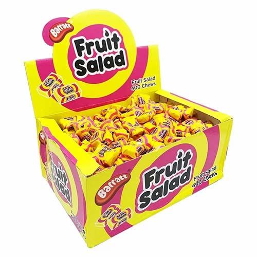Barratt Fruit Salad  Chews Vegetarian Sweets - Pack of 400 Product Image