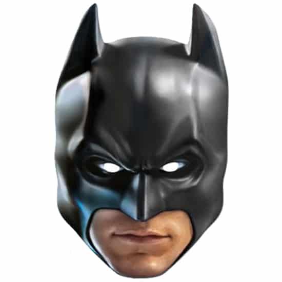 Batman Celebrity Cardboard Face Mask Product Image