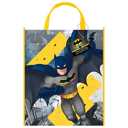 Batman Plastic Tote Bag 33cm x 28cm Product Image