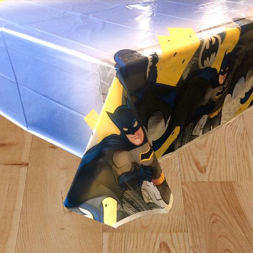 Batman Theme Plastic Tablecover 213cm x 137cm