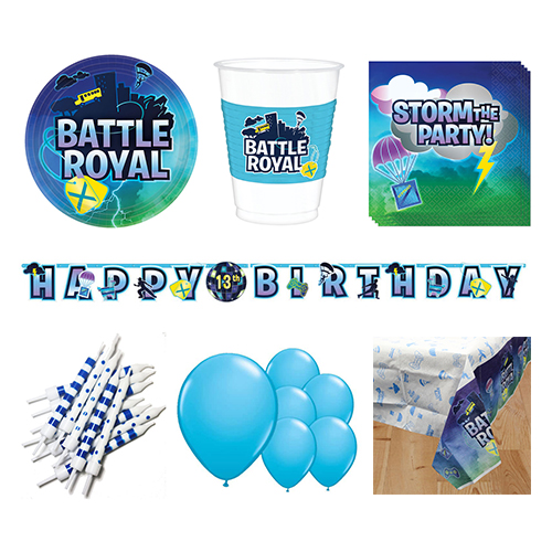 Battle Royal 8 Person Deluxe Party Pack