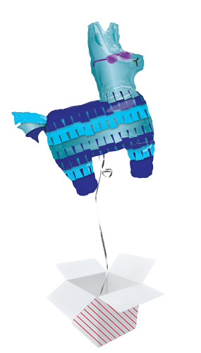 Battle Royal Llama Helium Foil Giant Balloon - Inflated Balloon in a Box Product Image