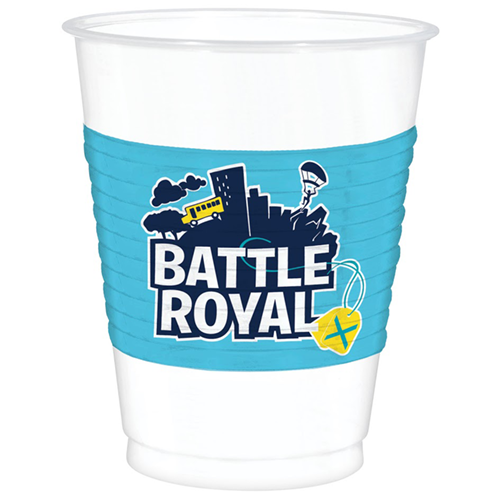 Battle Royal Plastic Cups 473ml - Pack of 8