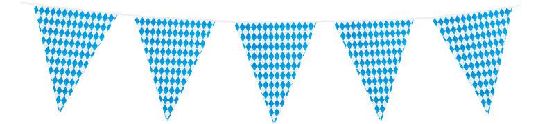 Oktoberfest Bavaria Giant Plastic Bunting 8m