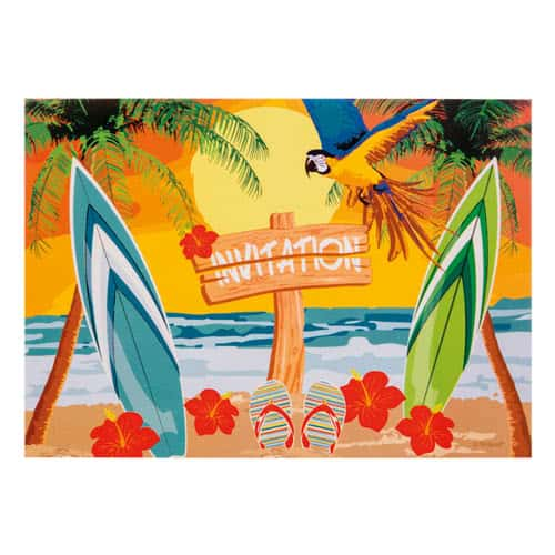 Beach Party Invitations - Pack of 6 Product Image