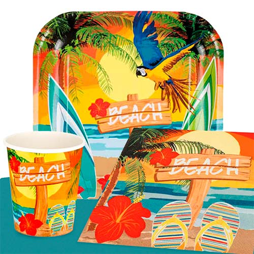 Beach Party 6 Person Value Party Pack