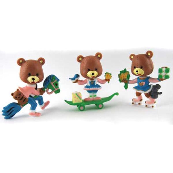 Assorted Bear Family Cake Topper Cake Topper
