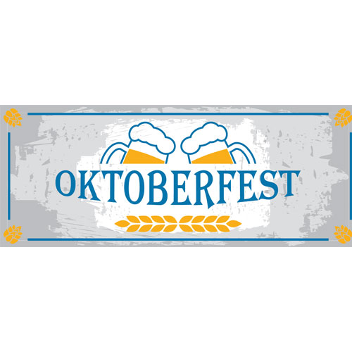 Beer Cheers Oktoberfest Large PVC Banner Decoration 3m x 1.2m Product Image