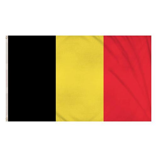 Belgium Flag 5 x 3 Ft