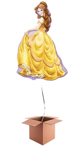 Disney Beauty And The Beast Belle Princess Helium Foil Giant Balloon - Inflated Balloon in a Box Product Image
