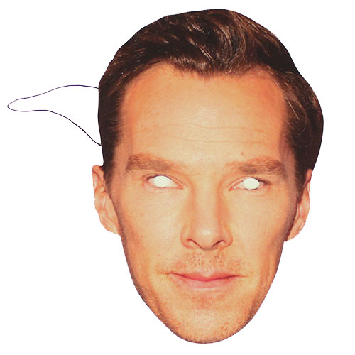 Benedict Cumberbatch Cardboard Face Mask Product Image