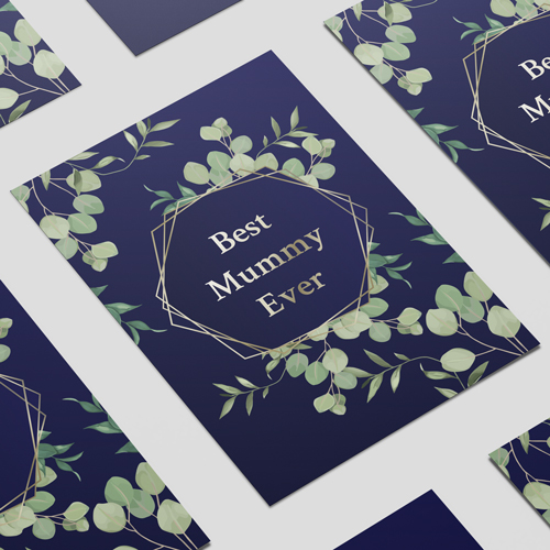 Best Mummy Ever Foliage Mother's Day A3 Poster PVC Party Sign Decoration 42cm x 30cm Product Image