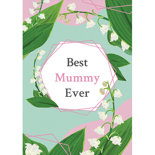 Best Mummy Ever Pastel Mother's Day A3 Poster PVC Party Sign Decoration 42cm x 30cm Product Gallery Image