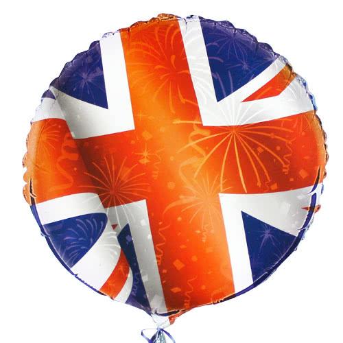 Best of British Union Jack Round Foil Helium Balloon 46cm / 18Inch