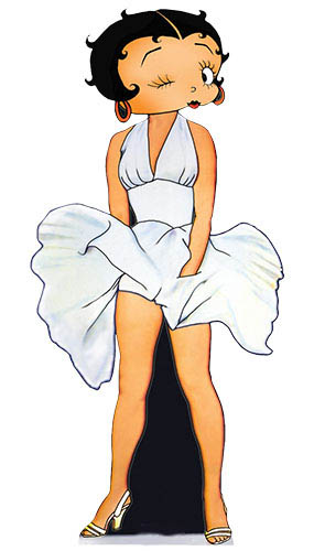 Betty Boop '7 Year Itch' Lifesize Cardboard Cutout - 166cm Product Image