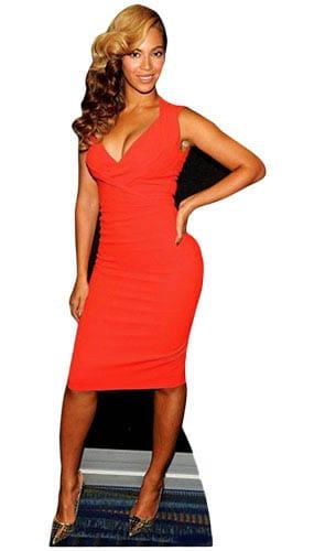 Beyonce Lifesize Cardboard Cutout - 171cm Product Image