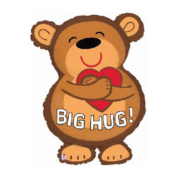Big Bear Helium Foil Giant Balloon 71cm / 28 in Product Image