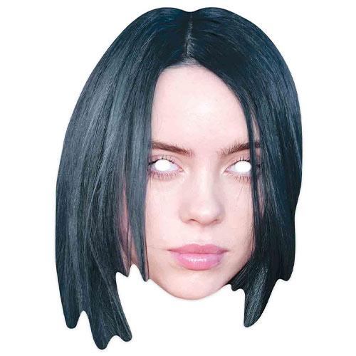 Billie Eilish Cardboard Face Mask