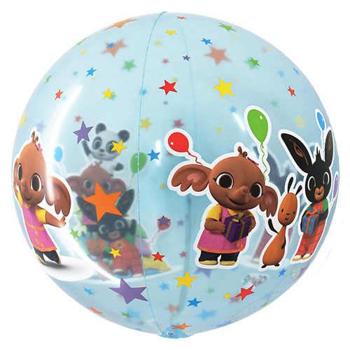 Bing 4D Globe Foil Helium Balloon 38cm / 15 in Product Image
