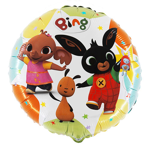 Bing and Friends Round Foil Helium Balloon 46cm / 18 in Product Image