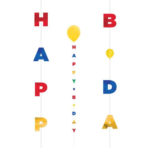Birthday Fun String Balloon Tail 182cm