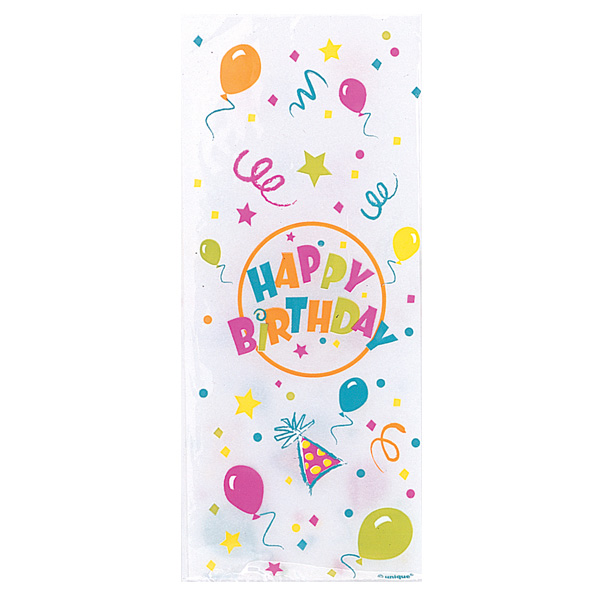 Birthday Blast Cello Bag - Pack of 20 Product Image